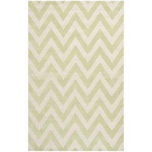 Vlněný koberec Safavieh Stella Light Green, 274 x 182 cm