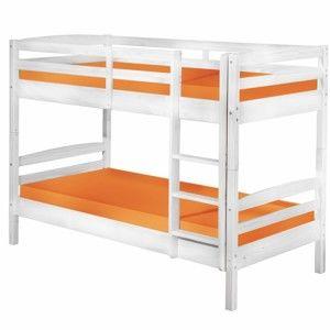 Dětská patrová postel z masivního borovicového dřeva Interlink Annika, 90 x 200 cm