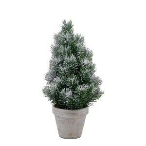Vánoční dekorace ve tvaru stromku v květináči Ego Dekor, výška33cm
