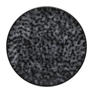 Šedý kameninový podnos Costa Nova Roda Mimas, ⌀ 22 cm