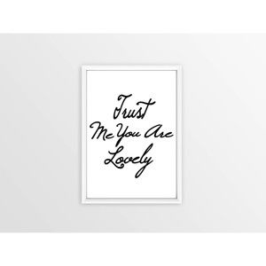 Obraz Piacenza Art Just You Me Are Loandly,30x20cm