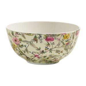 Miska z kostního porcelánu Maxwell&Williams Kilburn Summer Blossom, ⌀16cm