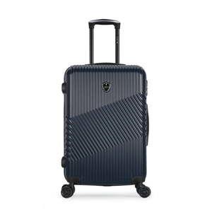 Tmavě modrý cestovní kufr na kolečkách GENTLEMAN FARMER Sento Valise Cabine, 37 l