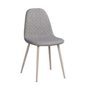 Šedá jídelní židle Folke Aston