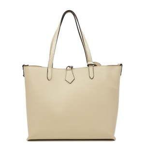 Béžová kožená kabelka Isabella Rhea Samy