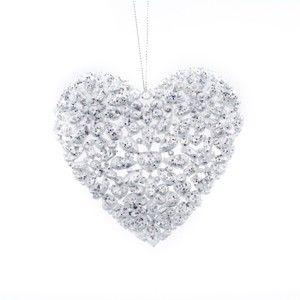 Závěsná dekorace ve tvaru srdce Dakls Elena