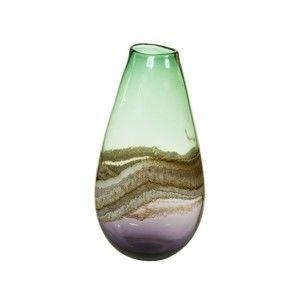 Ručně vyráběná křišťálová váza SantiagoPons Crystal, výška37cm