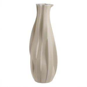 Béžová keramická váza InArt Dune, výška41cm