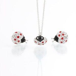Set náhrdelníku a náušnic se Swarovski Elements Laura Bruni Dot
