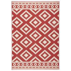 Červený běhoun Hanse Home Gloria Ethno, 80 x 300 cm