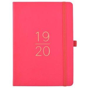 Růžový plánovač 2019/20 Busy B, 112 stran