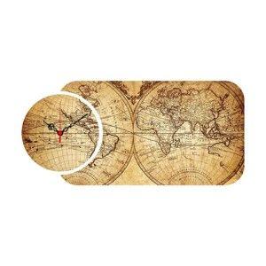 2dílné nástěnné hodiny Colombo
