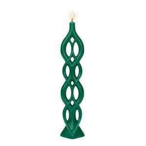 Zelená svíčka Alusi Lela, 5hodin hoření