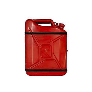 Červený dárkový kanystr Designed By Man Basic Plus