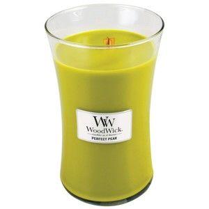 Vonná svíčka WoodWick Hruška, 130 hodin hoření