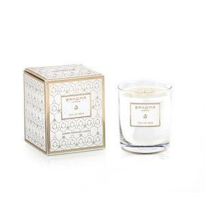 Vonná svíčka ve skle s vůní citrusů a mechu Bahoma London Eau de Mer, 75 hodin hoření