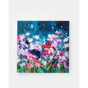 Obraz Kare Design Flower Garden, 100 x 100 cm