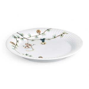 Porcelánový vánoční talíř Kähler Design Hammershoi Christmas Plate, ⌀ 22 cm