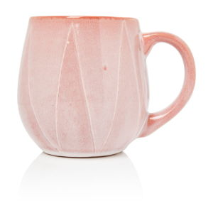 Kameninový růžový hrnek Sabichi