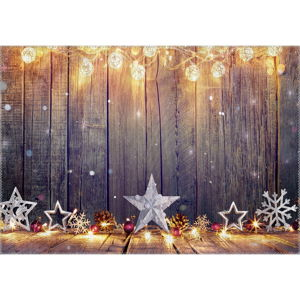 Koberec Vitaus Christmas Period Lights With Deco, 50 x 80 cm