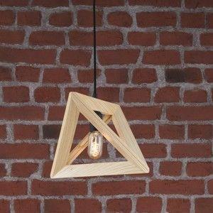 Dřevěné závěsné svítidlo Home Geometry
