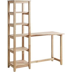 Psací stůl s regálovými poličkami DEEP Furniture Aileen