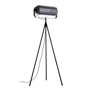 Černá stojací lampa La Forma Arete, výška 54 cm