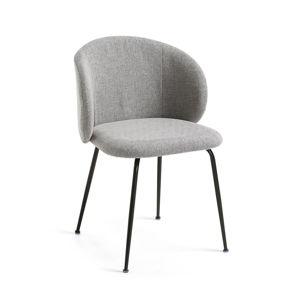 Šedá jídelní židle La Forma Minna