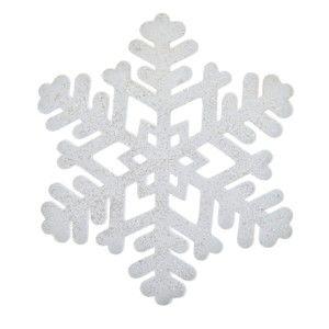 Vánoční pěnová dekorace ve tvaru sněhové vločky InArt Robyn