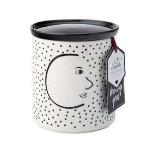 Porcelánová dóza na kávu David Mason Looking Good