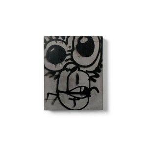 Betonový nástěnný obraz Lyon Béton Monkey