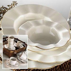 Sada 36 porcelánového nádobí Kutahya Viktor