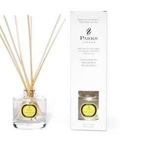 Difuzér Parks Candles London Aromatherapy, citronová tráva a máta, intenzita vůně 6-8týdnů