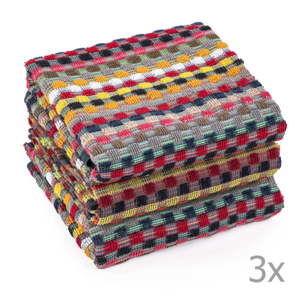 Sada 3 ručníků Tiseco Home Studio Terry, 50 x 70 cm