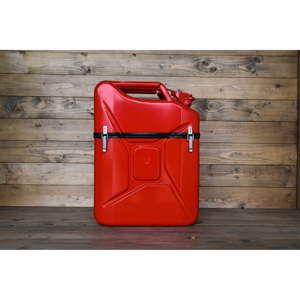 Červený box ve tvaru kanystru Designed By Man, 20l