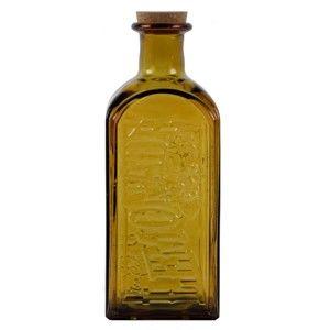 Topazová lahev s korkovým uzávěrem Ego Decor, 2 l