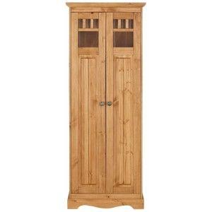 Dřevěná šatní skříň Støraa Monty