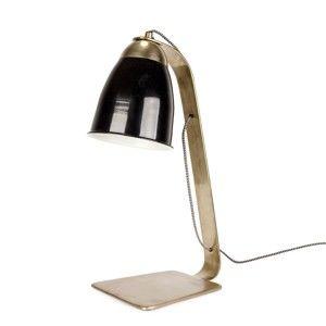 Stolní lampa s černým stínítkem HF Living Bureau