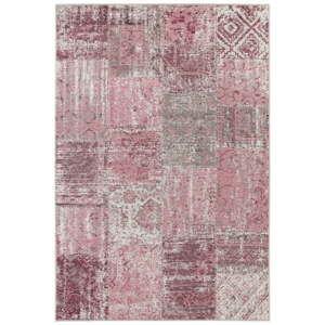 Růžový koberec Elle Decor Pleasure Denain, 80 x 150 cm