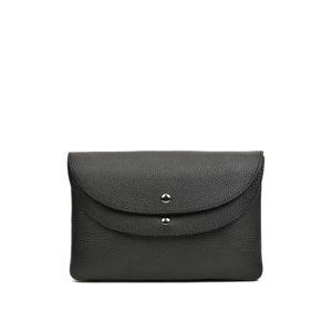 Černá kožená kabelka RobertaM Vatentina