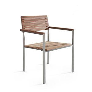 Zahradní židle z teakového dřeva Monobeli Alice