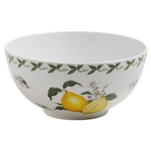 Miska z kostního porcelánu Maxwell & Williams Orchard Fruits Lemon, ⌀ 16 cm