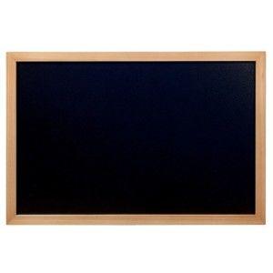 Set popisovací tabule a křídového popisovače Securit® Teak, 40x60cm