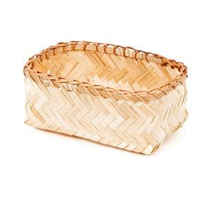 Úložný bambusový košík Compactor Halong Basket, 23 x 10 cm