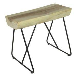Stolička se sedákem ze dřeva mungur HSM collection Kruk