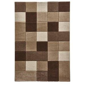 Béžovohnědý koberec Think Rugs Brooklyn, 120x170cm