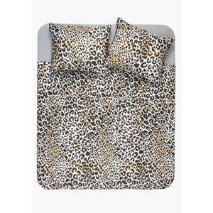 Bavlněné povlečení s leopardím vzorem Ambianzz, 220 x 140 cm