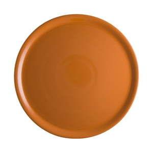 Oranžový porcelánový talíř na pizzu Brandani Pizza, ⌀31cm