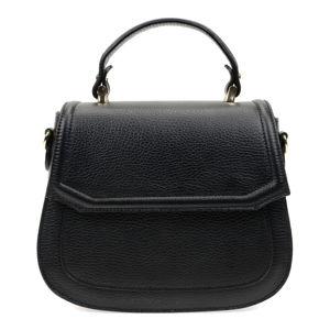 Dámská černá kožená kabelka Isabella Rhea Neda