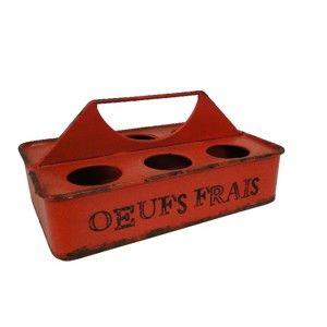 Držák na vajíčka Antic Line Rouge Oeufs